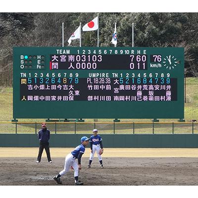 野球場スコアボード