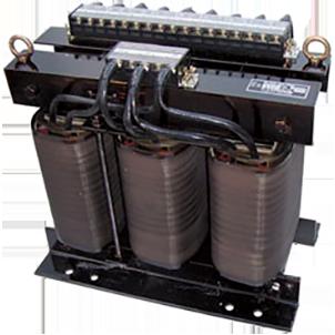 三相複巻変圧器